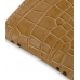 iPhone 4 4s Leather Sleeve Pouch Case (Brown Croc Pattern) genuine leather case by PDair