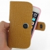 iPhone 6 6s (in Slim Cover) Holster Case (Brown Croc Pattern) top quality leather case by PDair