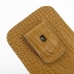 iPhone 6 6s Pouch Case with Belt Clip (Brown Croc Pattern) top quality leather case by PDair