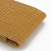 iPhone 6 6s (in Slim Cover) Pouch Case (Brown Croc Pattern) genuine leather case by PDair