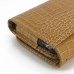 iPhone 6 6s Leather Wallet Case (Brown Croc Pattern) handmade leather case by PDair