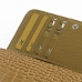 iPhone 6 6s Leather Wallet Case (Brown Croc Pattern) top quality leather case by PDair