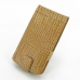LG G3 Leather Flip Case (Brown Croc Pattern) offers worldwide free shipping by PDair