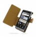 Motorola Milestone 2 / DROID 2 Leather Flip Cover (Brown Croc) offers worldwide free shipping by PDair