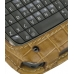 Nokia E71 Leather Sleeve Case (Brown Croc Pattern) handmade leather case by PDair
