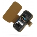 Nokia N97 mini Leather Flip Cover (Brown Croc) offers worldwide free shipping by PDair