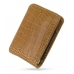 Sony Ericsson Xperia X10 Mini Leather Sleeve Pouch Case (Brown Croc) top quality leather case by PDair