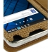 Samsung Galaxy S WiFi 5.0 Leather Flip Cover (Brown Croc) genuine leather case by PDair