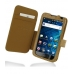 Samsung Galaxy S WiFi 5.0 Leather Flip Cover (Brown Croc) custom degsined carrying case by PDair