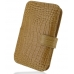 Samsung Galaxy S WiFi 5.0 Leather Flip Cover (Brown Croc) offers worldwide free shipping by PDair