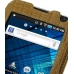 Samsung Galaxy S WiFi 5.0 Leather Flip Case (Brown Croc Pattern) top quality leather case by PDair