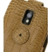 Samsung Galaxy S2 Epic Leather Flip Top Case (Brown Croc Pattern) protective carrying case by PDair