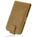 Samsung Galaxy S2 Epic Leather Flip Top Case (Brown Croc Pattern) offers worldwide free shipping by PDair