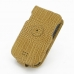 Samsung Droid Charge Leather Flip Case (Brown Croc Pattern) custom degsined carrying case by PDair