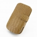 Samsung Galaxy Express Leather Flip Cover (Brown Croc) offers worldwide free shipping by PDair