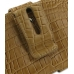 Samsung Galaxy Note Leather Holster Case (Brown Croc Pattern) protective carrying case by PDair