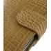 Samsung Galaxy Note Leather Holster Case (Brown Croc Pattern) top quality leather case by PDair