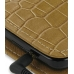Samsung i8000 Omnia II Leather Flip Cover (Brown Croc) genuine leather case by PDair