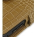 Samsung i8000 Omnia II Leather Flip Cover (Brown Croc) top quality leather case by PDair