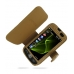 Samsung i8000 Omnia II Leather Flip Cover (Brown Croc) offers worldwide free shipping by PDair