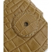 Samsung i8000 Omnia II Leather Flip Case (Brown Croc Pattern) protective carrying case by PDair