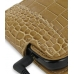 Samsung i8000 Omnia II Leather Flip Case (Brown Croc Pattern) top quality leather case by PDair