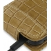Samsung S8000 Jet Leather Flip Case (Brown Croc Pattern) genuine leather case by PDair