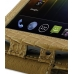 Samsung Galaxy Nexus Leather Flip Top Case (Brown Croc Pattern) handmade leather case by PDair