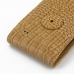Samsung Galaxy S Advance Leather Flip Case (Brown Croc Pattern) protective carrying case by PDair