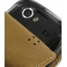 Samsung Google Nexus S Leather Flip Case (Brown Croc Pattern) handmade leather case by PDair