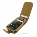 Samsung Google Nexus S Leather Flip Case (Brown Croc Pattern) offers worldwide free shipping by PDair
