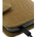 Samsung Galaxy S2 T989 Leather Flip Cover (Brown Croc) handmade leather case by PDair