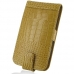 Samsung Galaxy S2 T989 Leather Flip Top Case (Brown Croc Pattern) offers worldwide free shipping by PDair
