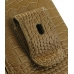 Samsung Galaxy S2 T989 Pouch Case with Belt Clip (Brown Croc Pattern) protective carrying case by PDair