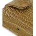 Sony Walkman NWZ-X1050 X1060 X1000 Leather Flip Case (Brown Croc) handmade leather case by PDair