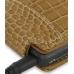 Sony Walkman NWZ-X1050 X1060 X1000 Leather Flip Case (Brown Croc) genuine leather case by PDair
