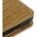 Sony Walkman NWZ-X1050 X1060 X1000 Pouch Case with Belt Clip (Brown Croc) genuine leather case by PDair