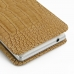 Sony Xperia ZL Leather Sleeve Pouch Case (Brown Croc Pattern) handmade leather case by PDair