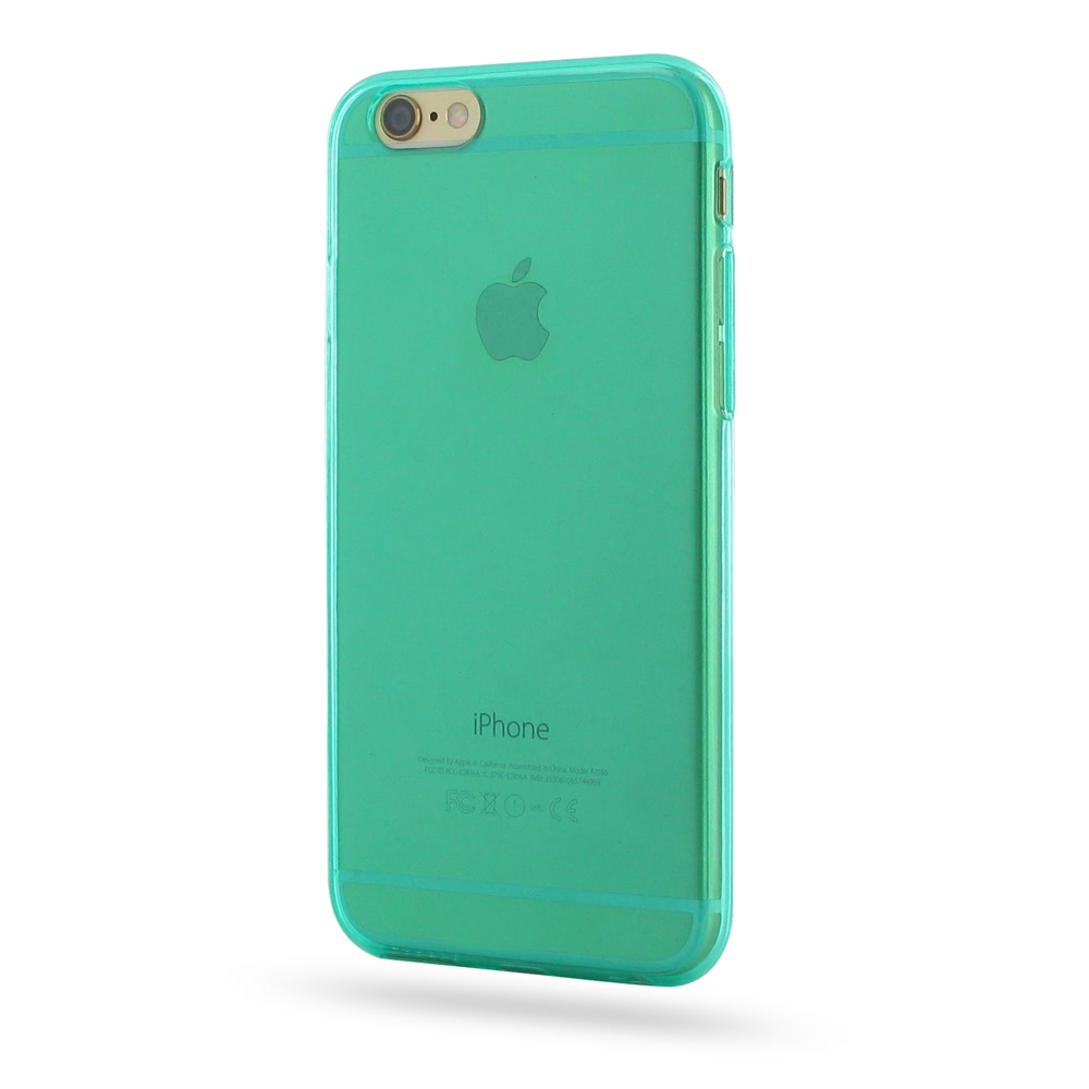 10% OFF + FREE SHIPPING, Buy Best PDair Quality Protective iPhone 6 | iPhone 6s Transparent Soft Gel Case (Aqua) online. You also can go to the customizer to create your own stylish leather case if looking for additional colors, patterns and types.