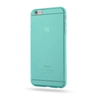 Highly Transparent Soft Gel Plastic Case for Apple iPhone 6 Plus | iPhone 6s Plus (Aqua)
