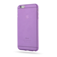 Highly Transparent Soft Gel Plastic Case for Apple iPhone 6 Plus | iPhone 6s Plus (Purple)