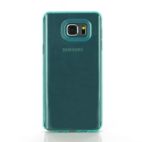 Highly Transparent Soft Gel Plastic Case for Samsung Galaxy Note 5 | Samsung Galaxy Note5 (Aqua)