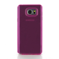 Highly Transparent Soft Gel Plastic Case for Samsung Galaxy Note 5 | Samsung Galaxy Note5 (Petal Pink)