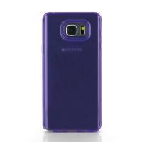 Highly Transparent Soft Gel Plastic Case for Samsung Galaxy Note 5 | Samsung Galaxy Note5 (Purple)