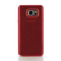 Highly Transparent Soft Gel Plastic Case for Samsung Galaxy Note 5 | Samsung Galaxy Note5 (Red)