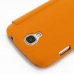 Samsung Galaxy S4 Casual Folio Cover Case (Orange) protective carrying case by PDair