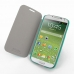 Samsung Galaxy S4 Casual Folio Cover Case (Aqua) genuine leather case by PDair