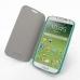 Samsung Galaxy S4 Casual Folio Cover Case (Aqua) genuine leather case by PDair