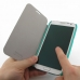 Samsung Galaxy Note 2 Casual Folio Cover Case (Aqua) Wide selection of colors and patterns. by PDair