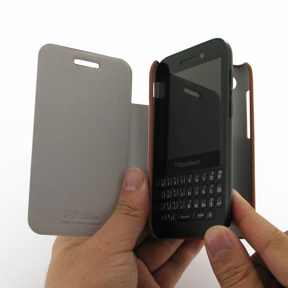 the best attitude ff610 d0086 BlackBerry Q5 Casual Folio Cover Case (Brown) :: PDair 10% OFF